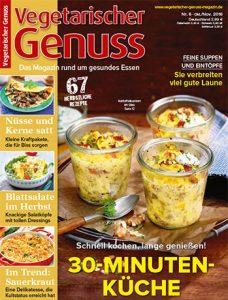 Food-Magazin Vegetarischer Genuss